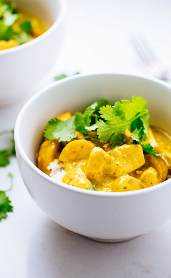 Chicken Yellow Curry Sauce