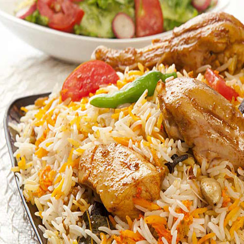 Chicken Biriyani/Pulao